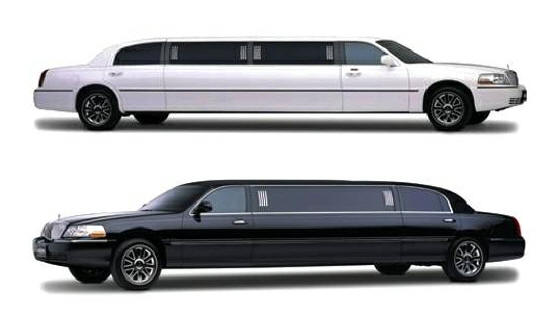 10 passenenger limo, black or white